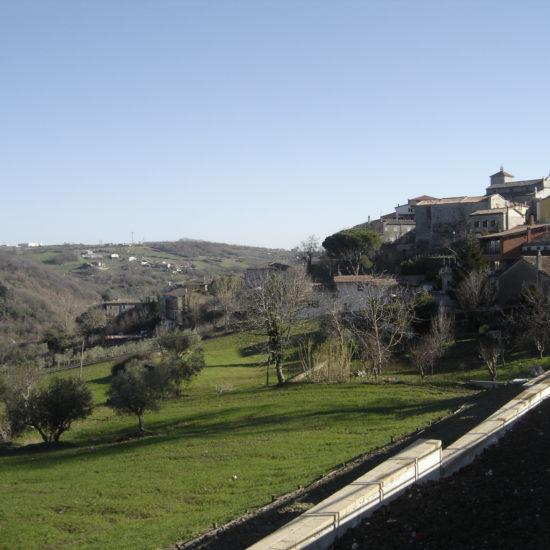 Sistemazione Idrogeologica Centro Urbano Versante Alenticella